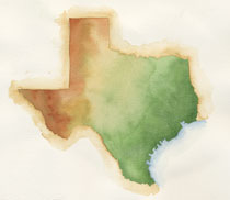 painting of Texas